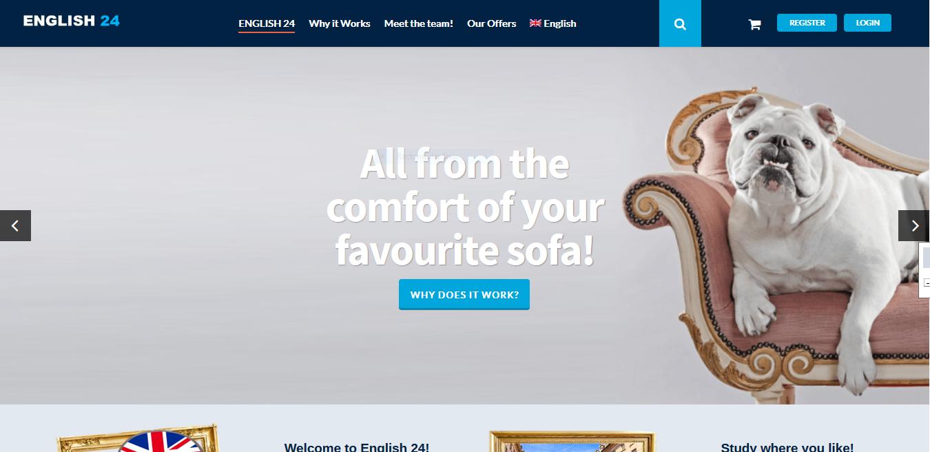 English24.com learning web site development.