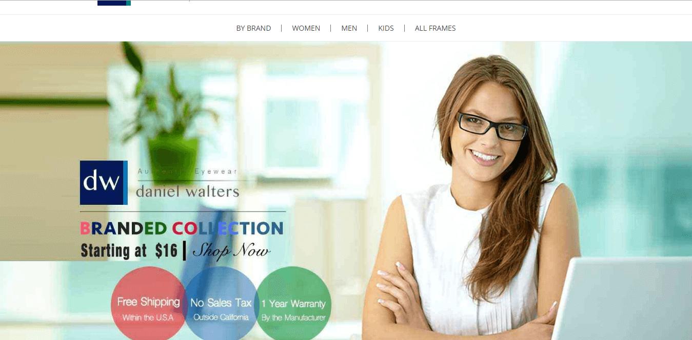 www.danielwalters.com website Development